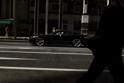 Jan Huetz Aston Martin Tokyo