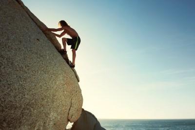 Jan Huetz Climbing